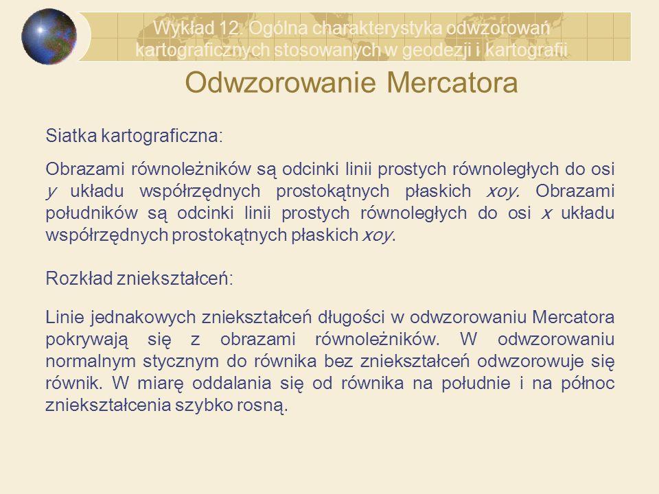 Odwzorowanie Mercatora