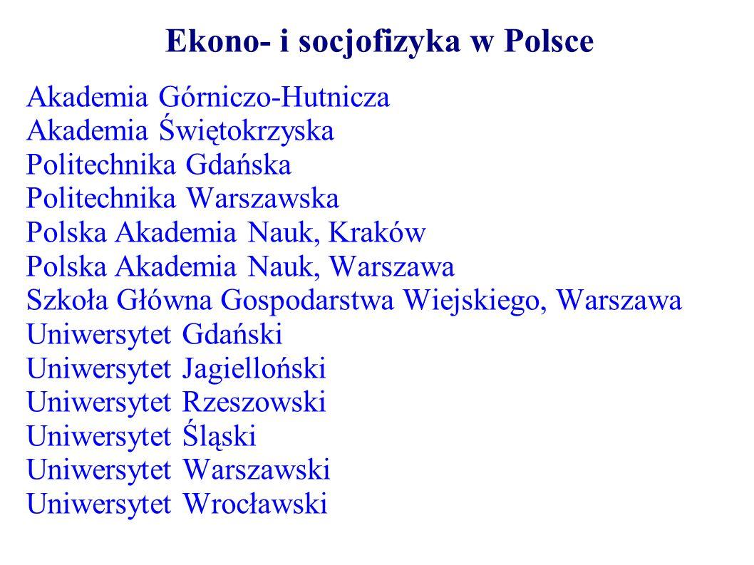 Ekono- i socjofizyka w Polsce