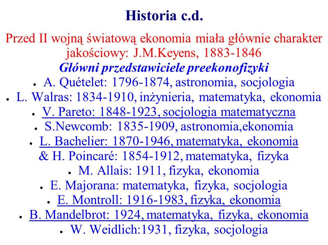 Główni przedstawiciele preekonofizyki