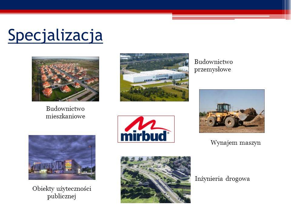 Specjalizacja Budownictwo przemysłowe Budownictwo mieszkaniowe