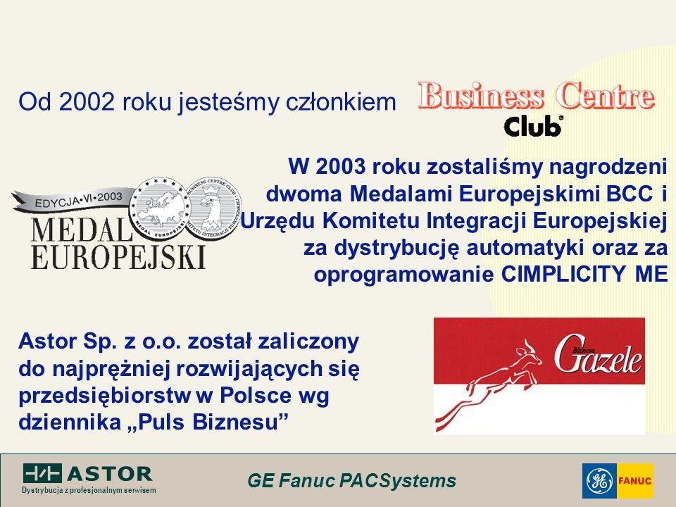 Od 2002 roku jesteśmy członkiem