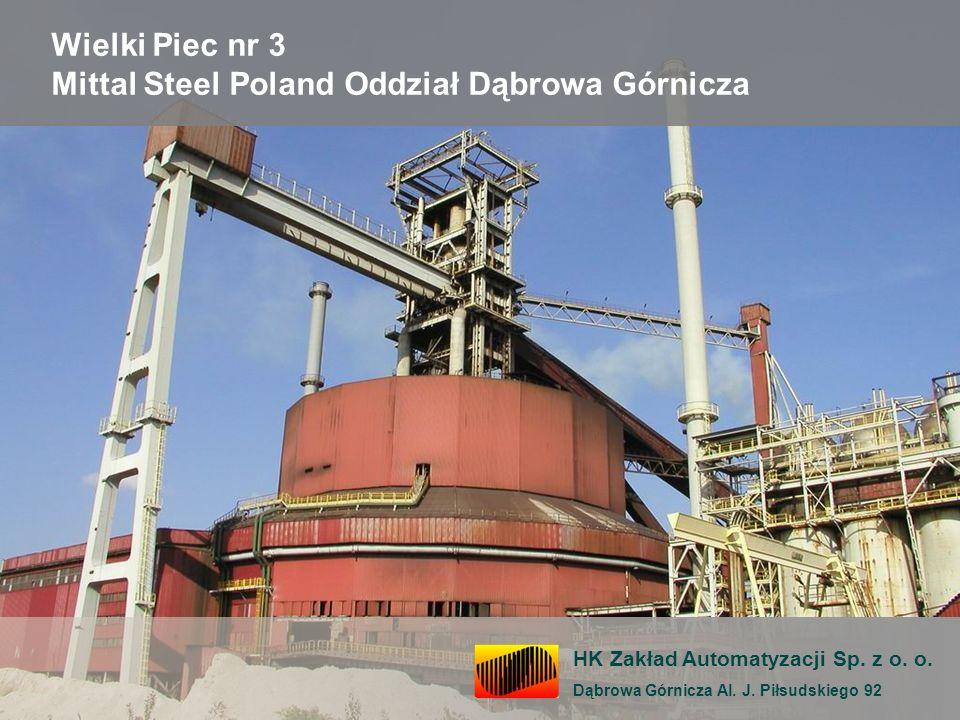 Wielki Piec nr 3 Mittal Steel Poland Oddział Dąbrowa Górnicza
