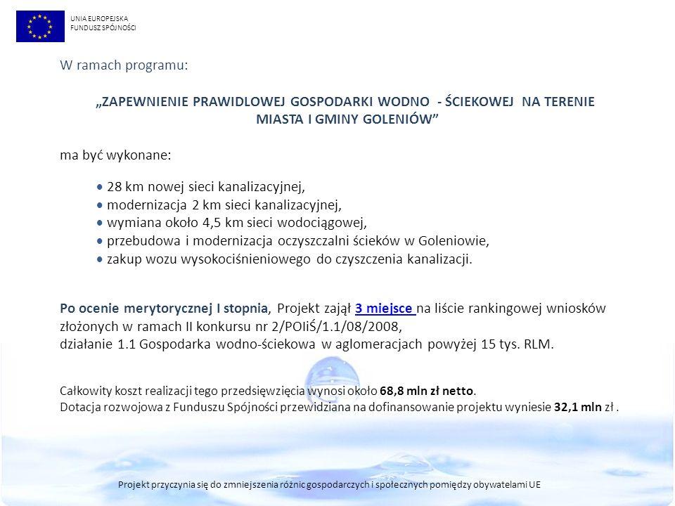 """""""ZAPEWNIENIE PRAWIDLOWEJ GOSPODARKI WODNO - ŚCIEKOWEJ NA TERENIE"""