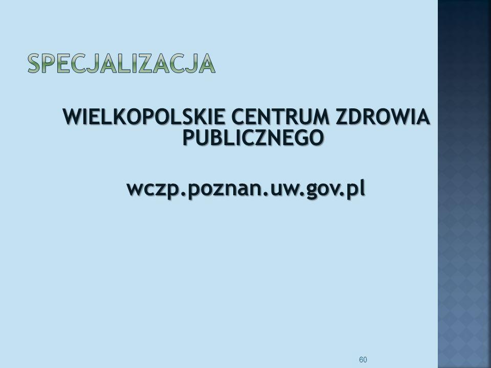 WIELKOPOLSKIE CENTRUM ZDROWIA PUBLICZNEGO wczp.poznan.uw.gov.pl