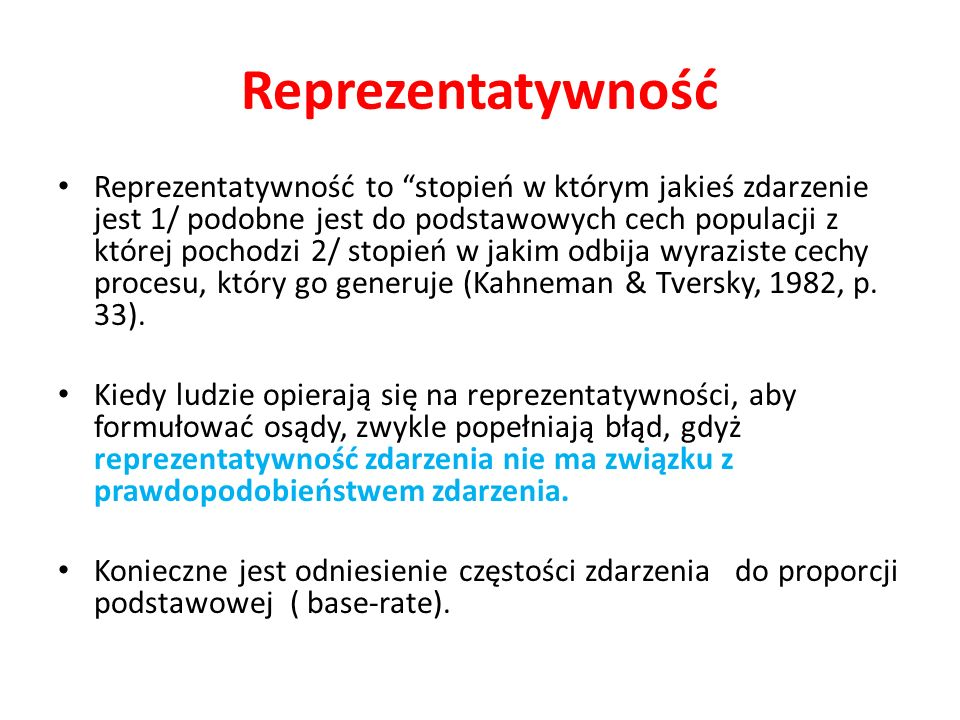 Reprezentatywność