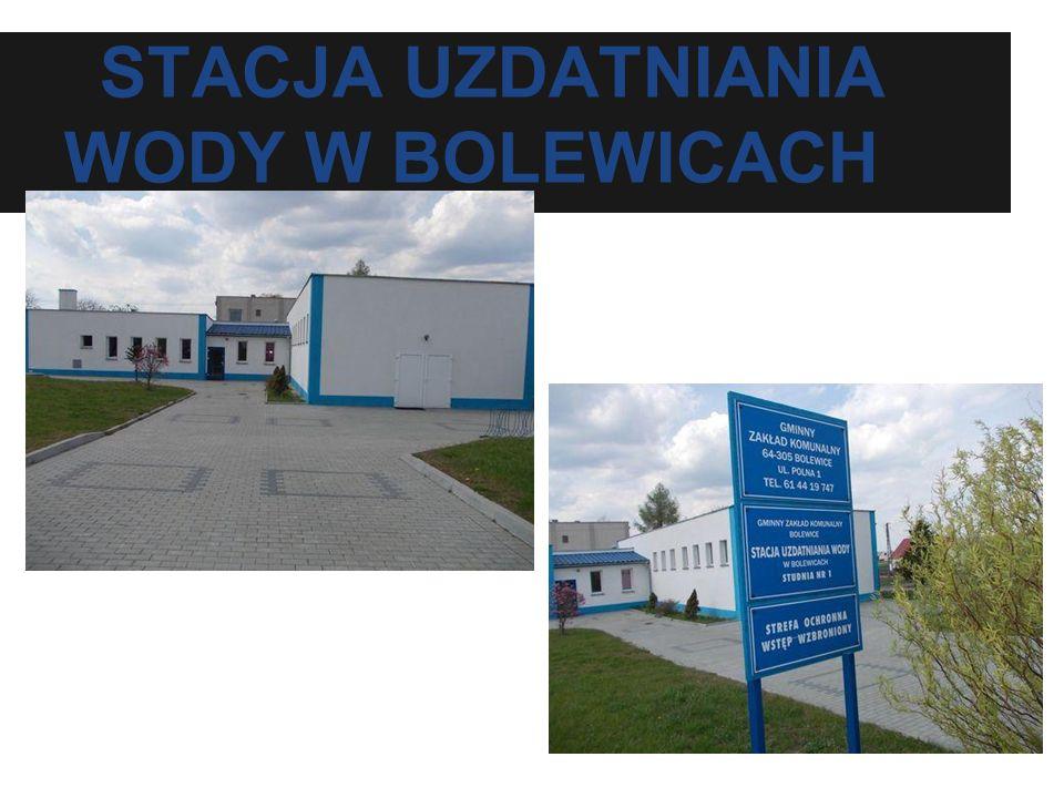 STACJA UZDATNIANIA WODY W BOLEWICACH