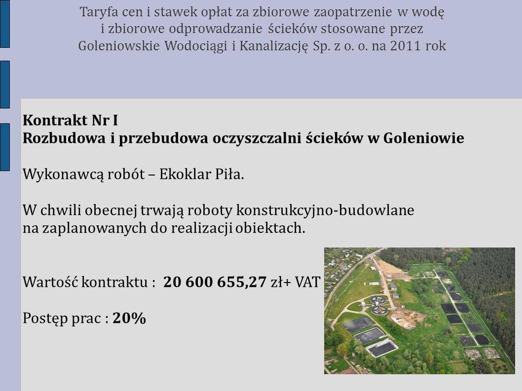 Rozbudowa i przebudowa oczyszczalni ścieków w Goleniowie