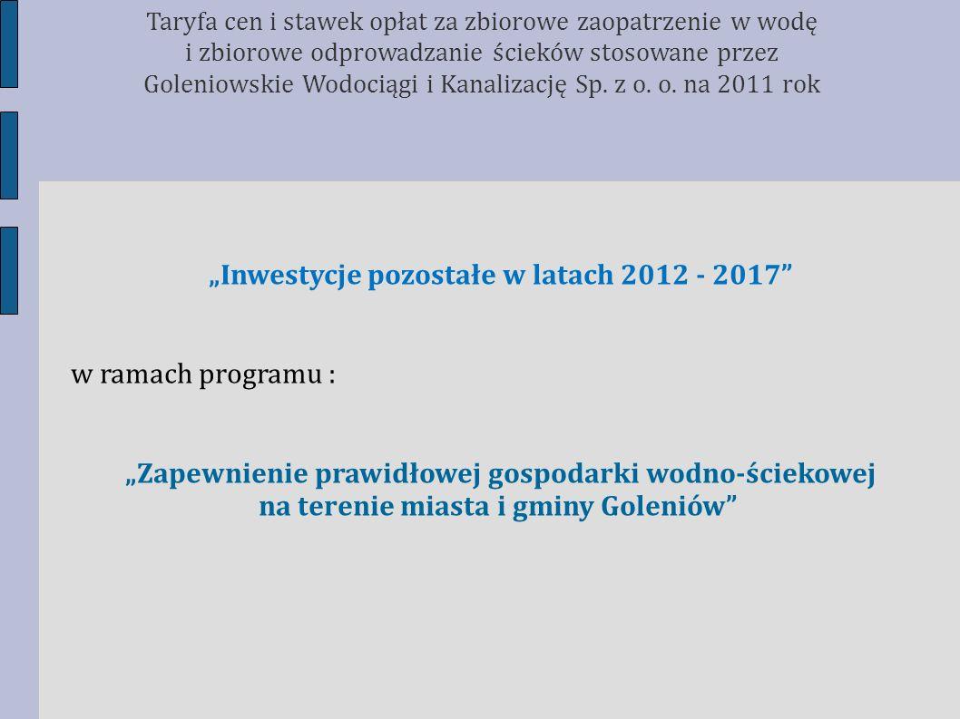 na terenie miasta i gminy Goleniów