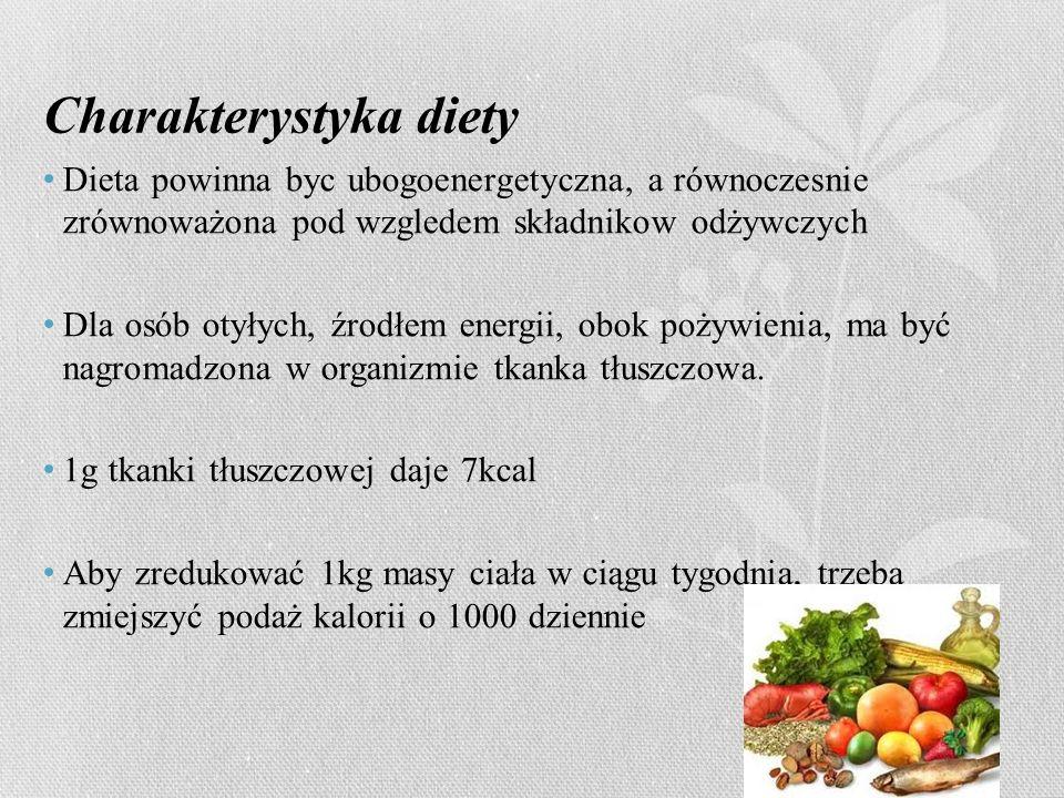 Charakterystyka diety