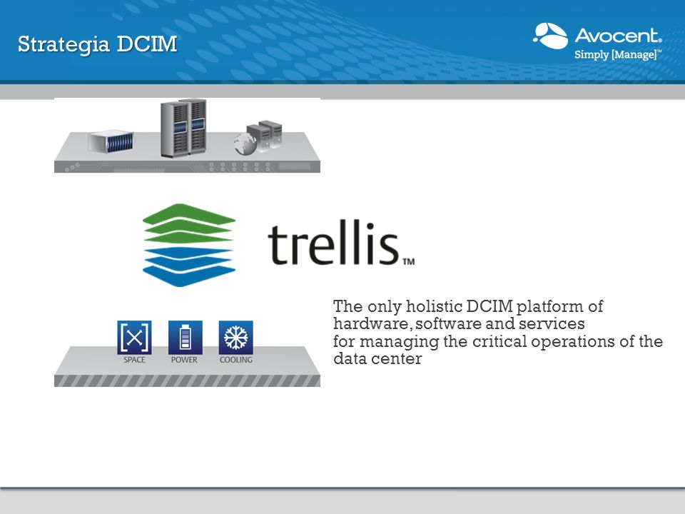 Strategia DCIM Bridging the Gap to Increase Efficiency