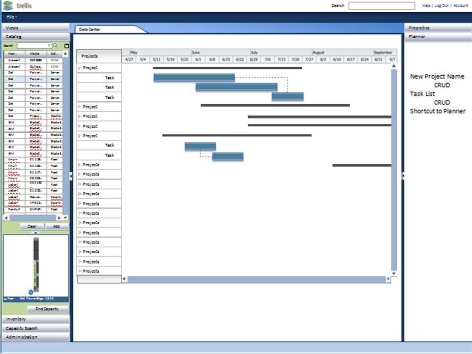 Trellis Platform – Change Planner - Screenshots