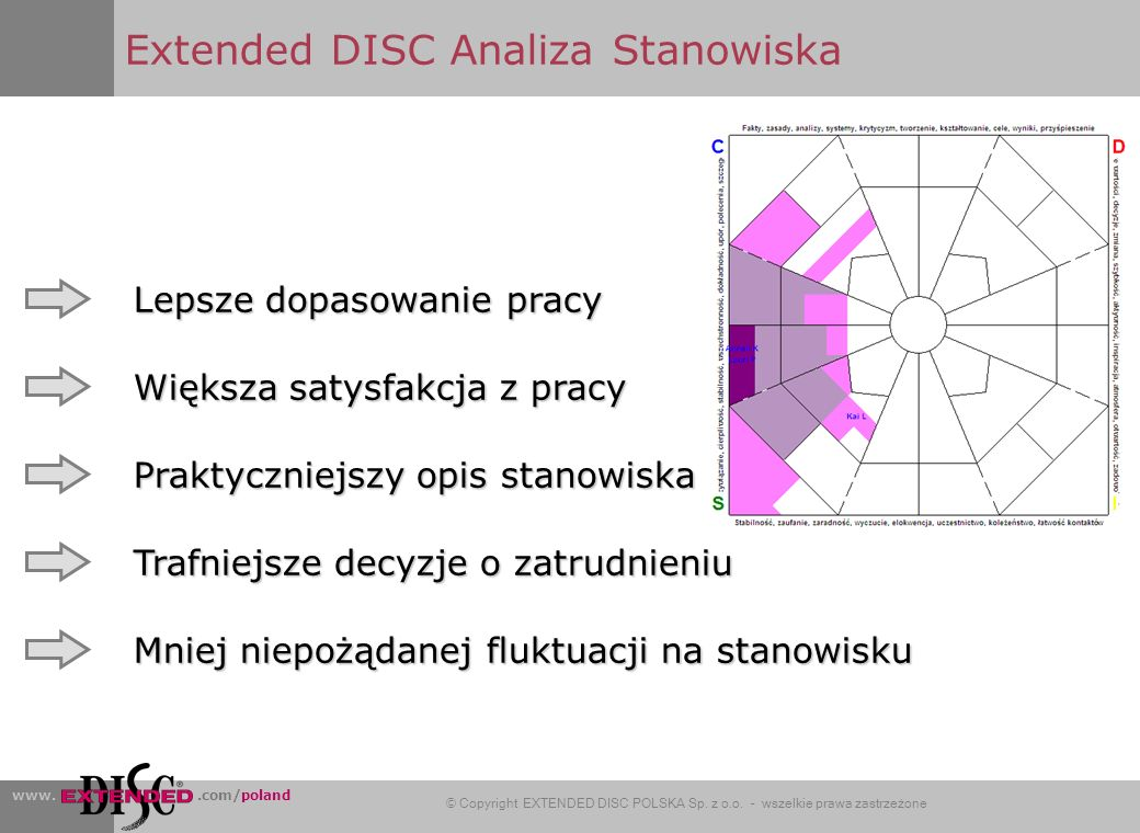 Extended DISC Analiza Stanowiska