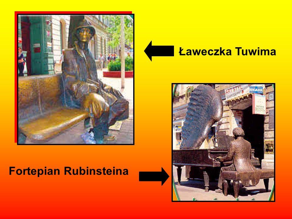 Ławeczka Tuwima Fortepian Rubinsteina