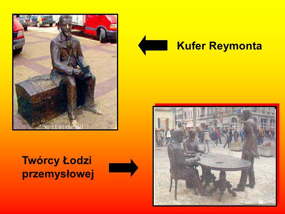 Kufer Reymonta Twórcy Łodzi przemysłowej