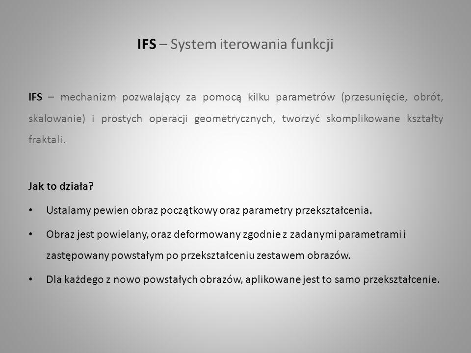 IFS – System iterowania funkcji