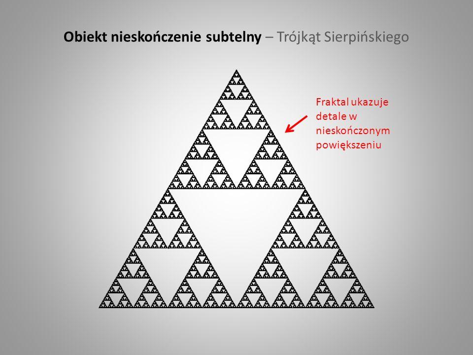 Obiekt nieskończenie subtelny – Trójkąt Sierpińskiego