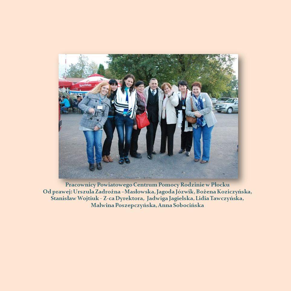 Pracownicy Powiatowego Centrum Pomocy Rodzinie w Płocku