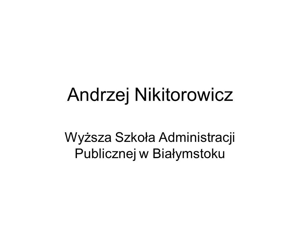 Wyższa Szkoła Administracji Publicznej w Białymstoku
