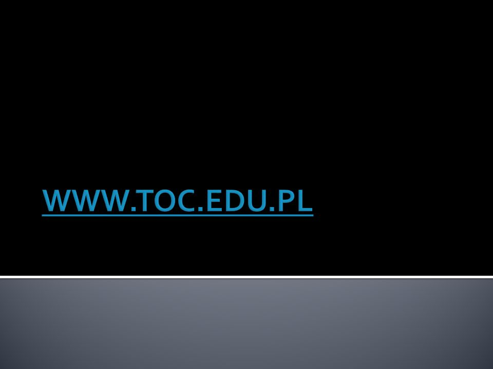 WWW.TOC.EDU.PL