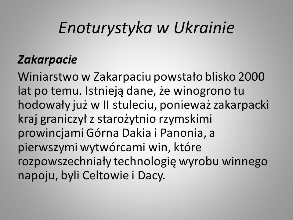 Enoturystyka w Ukrainie