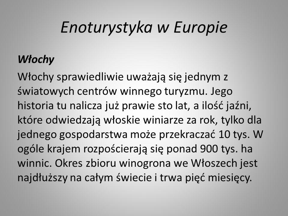Enoturystyka w Europie