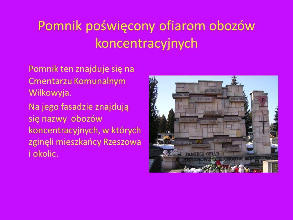 Pomnik poświęcony ofiarom obozów koncentracyjnych