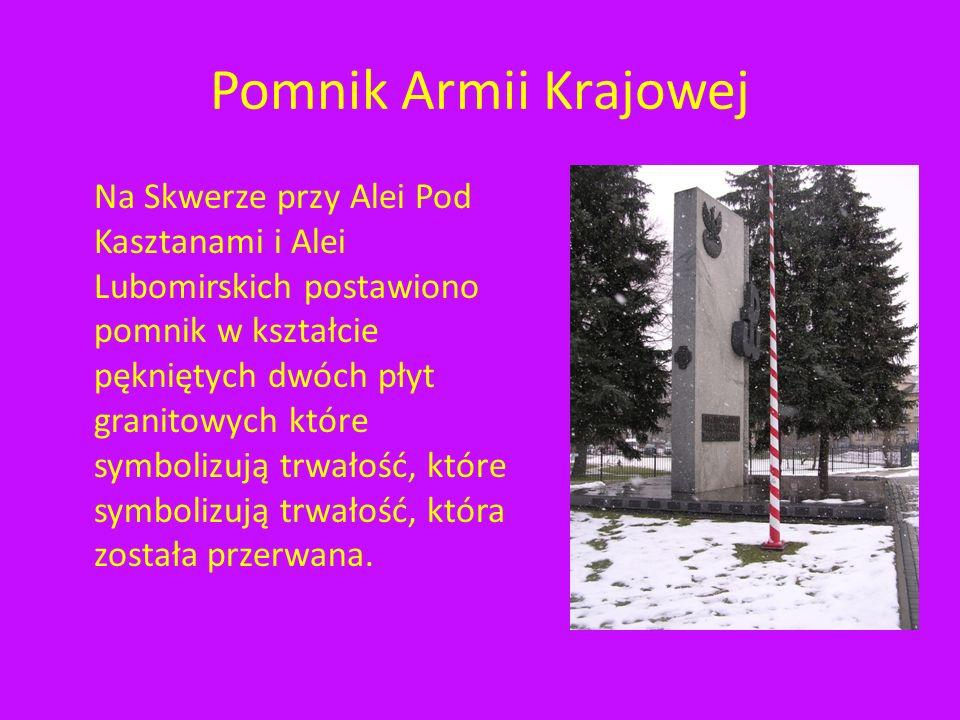 Pomnik Armii Krajowej