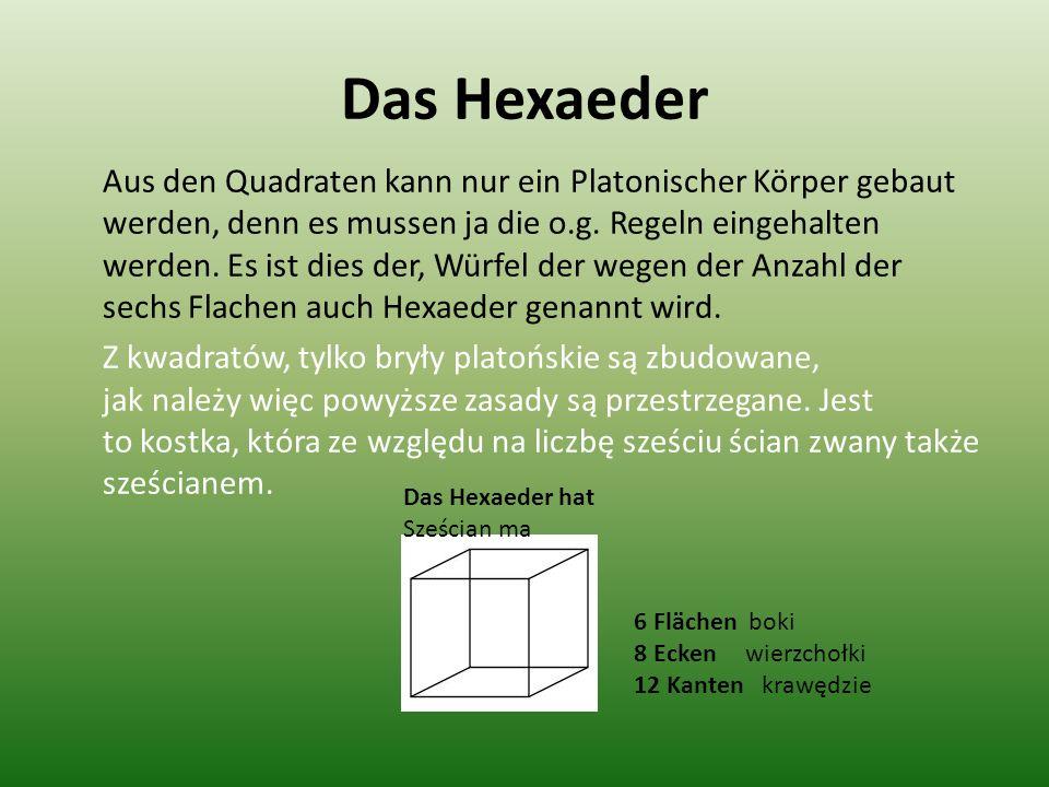 Das Hexaeder