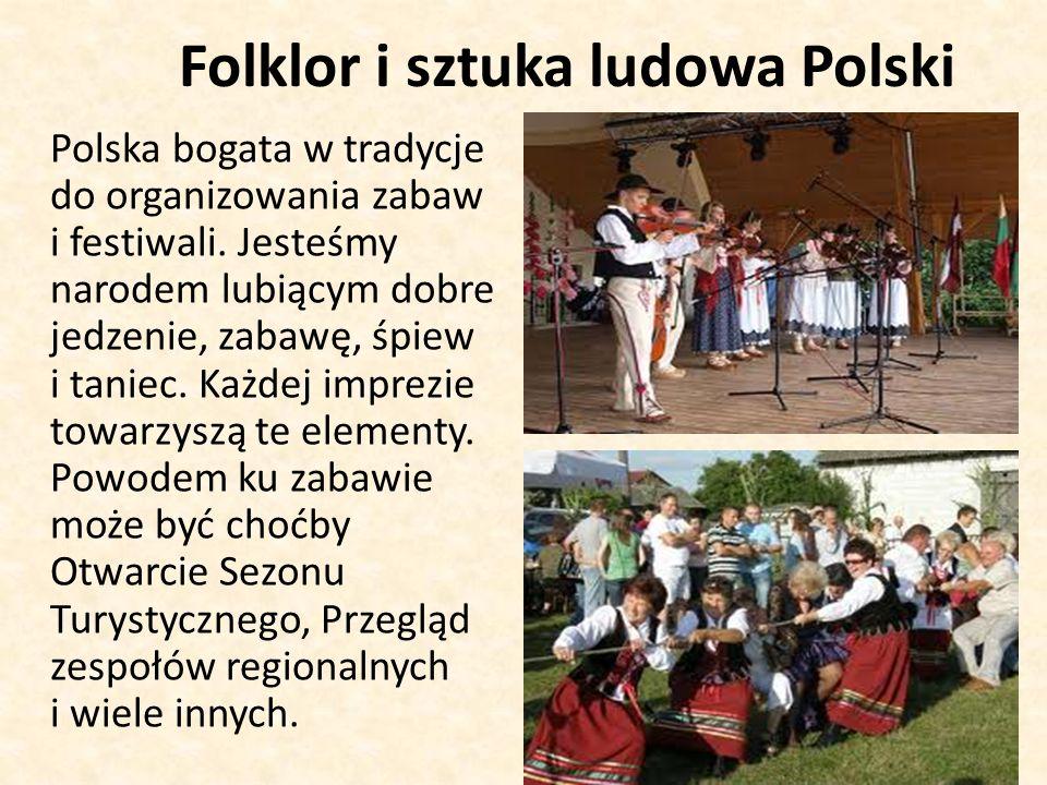 Folklor i sztuka ludowa Polski
