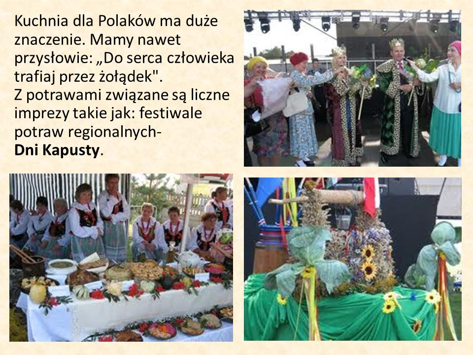 Kuchnia dla Polaków ma duże
