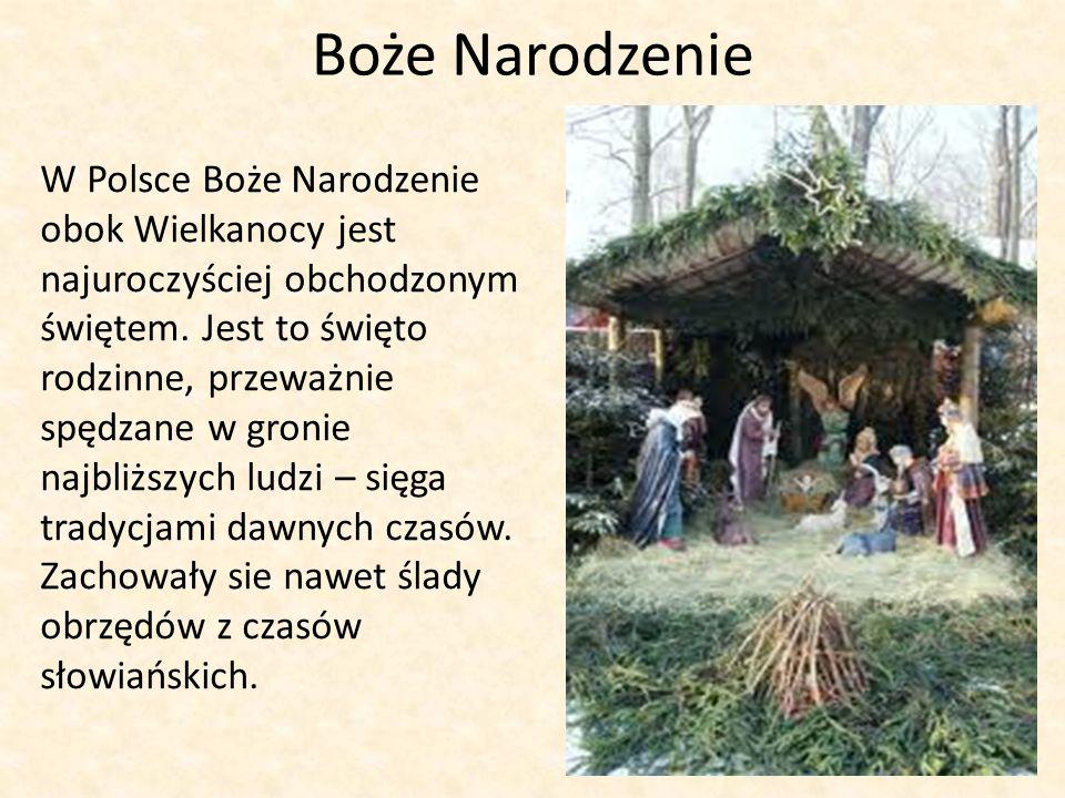 Boże Narodzenie W Polsce Boże Narodzenie obok Wielkanocy jest