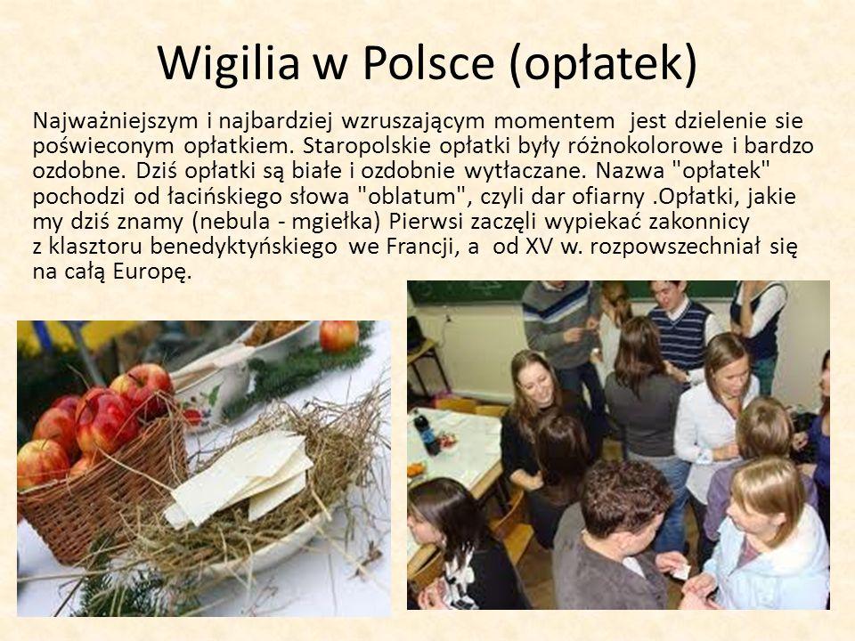 Wigilia w Polsce (opłatek)