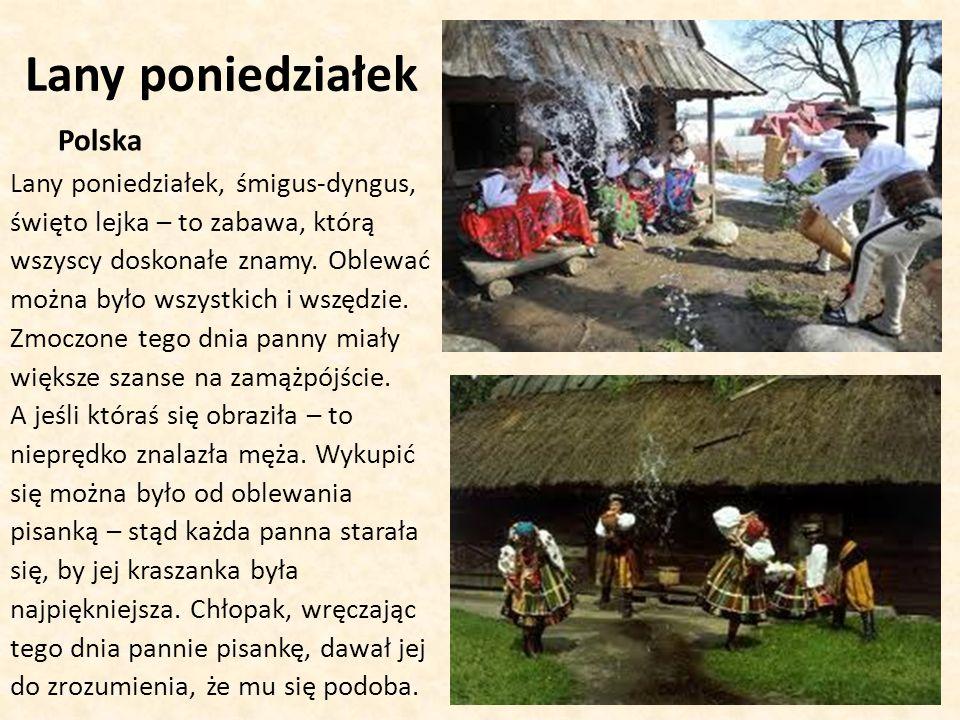 Lany poniedziałek Polska
