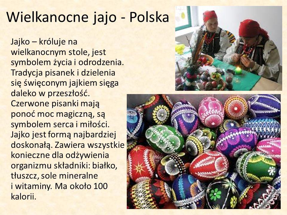 Wielkanocne jajo - Polska