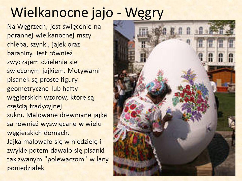 Wielkanocne jajo - Węgry