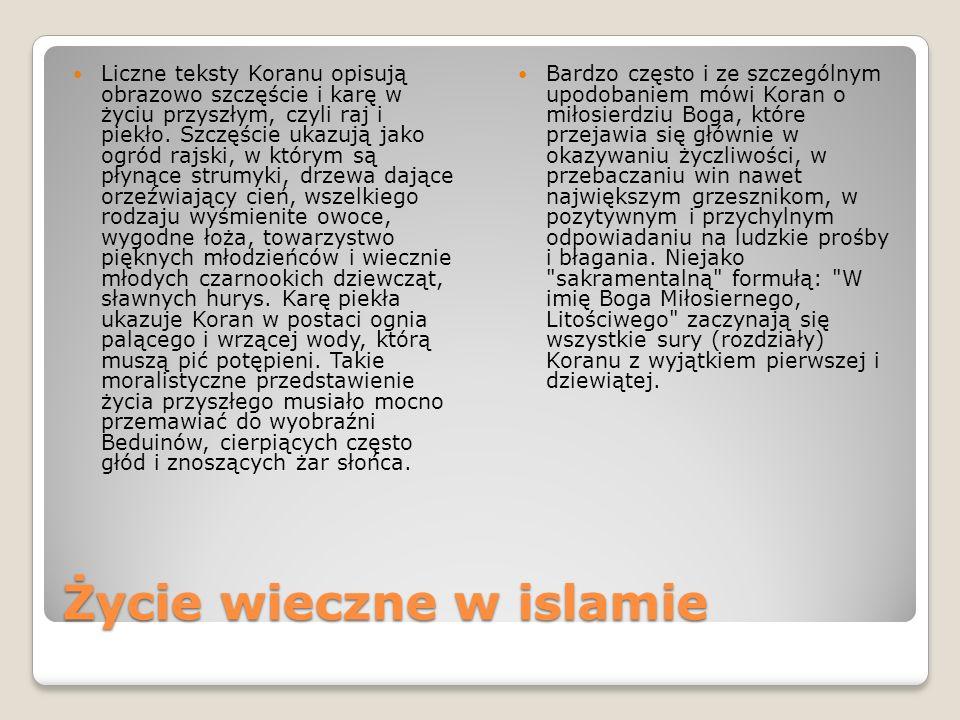 Życie wieczne w islamie