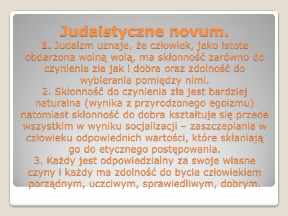 Judaistyczne novum. 1.