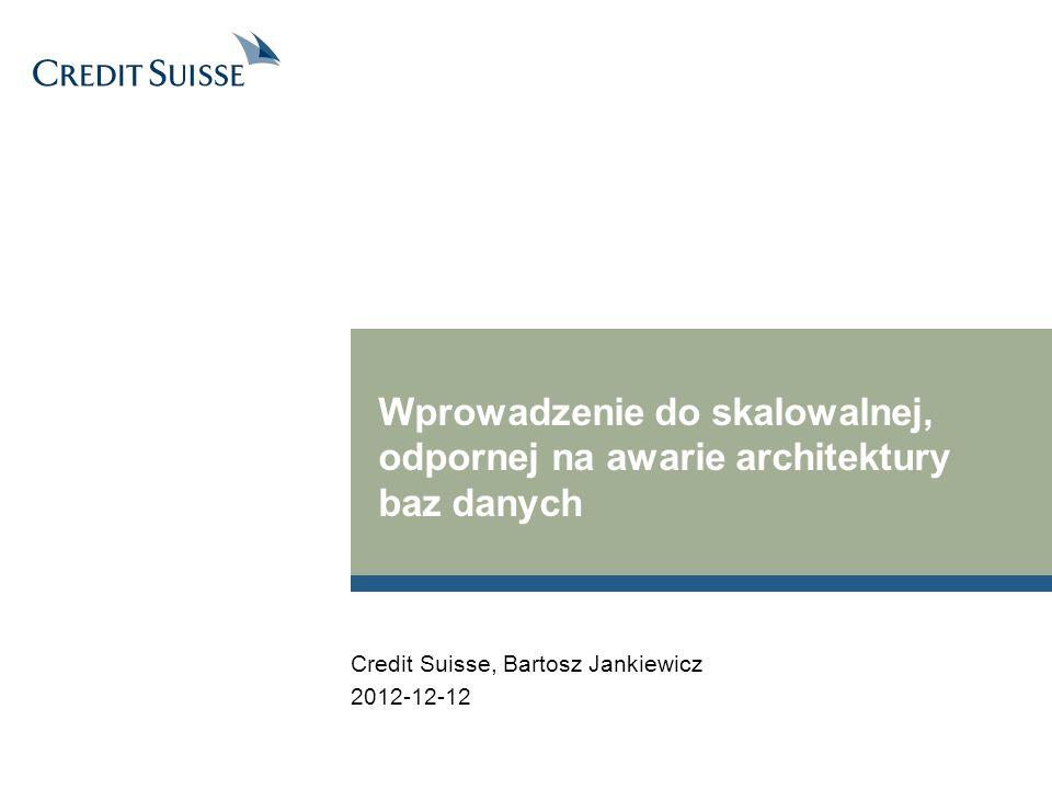 Wprowadzenie do skalowalnej, odpornej na awarie architektury baz danych