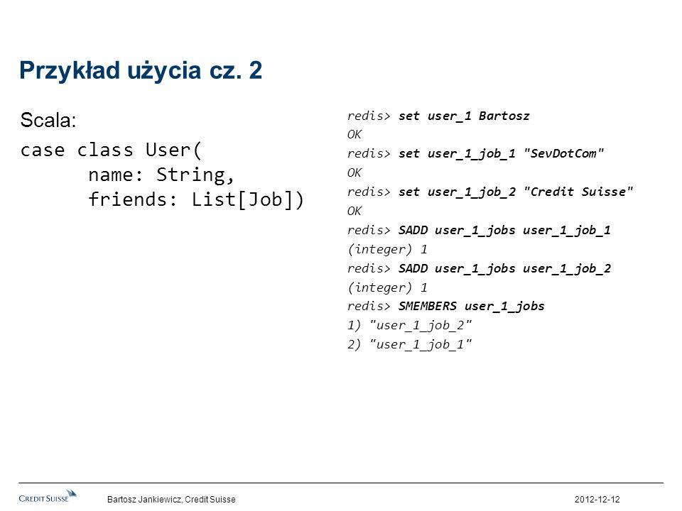 Przykład użycia cz. 2 Scala: