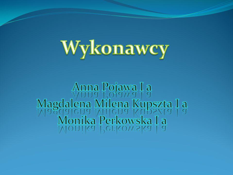 Anna Pojawa I a Magdalena Milena Kupszta I a Monika Perkowska I a