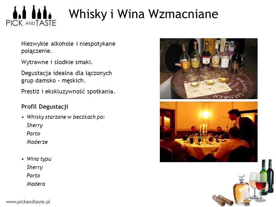 Whisky i Wina Wzmacniane