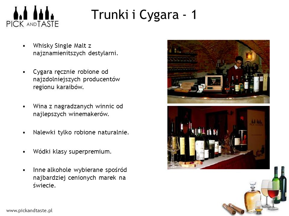 Trunki i Cygara - 1 Whisky Single Malt z najznamienitszych destylarni.