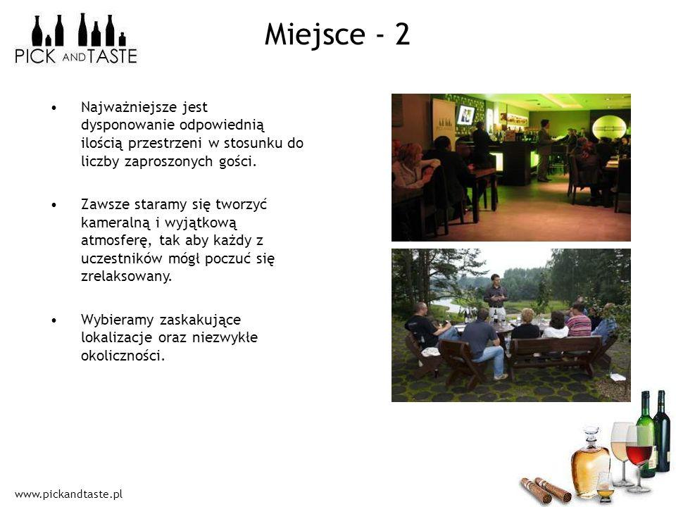 Miejsce - 2 Najważniejsze jest dysponowanie odpowiednią ilością przestrzeni w stosunku do liczby zaproszonych gości.