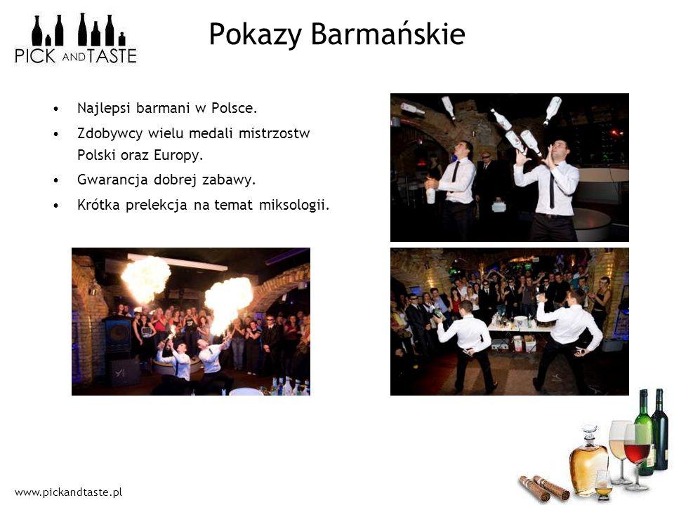 Pokazy Barmańskie Najlepsi barmani w Polsce.