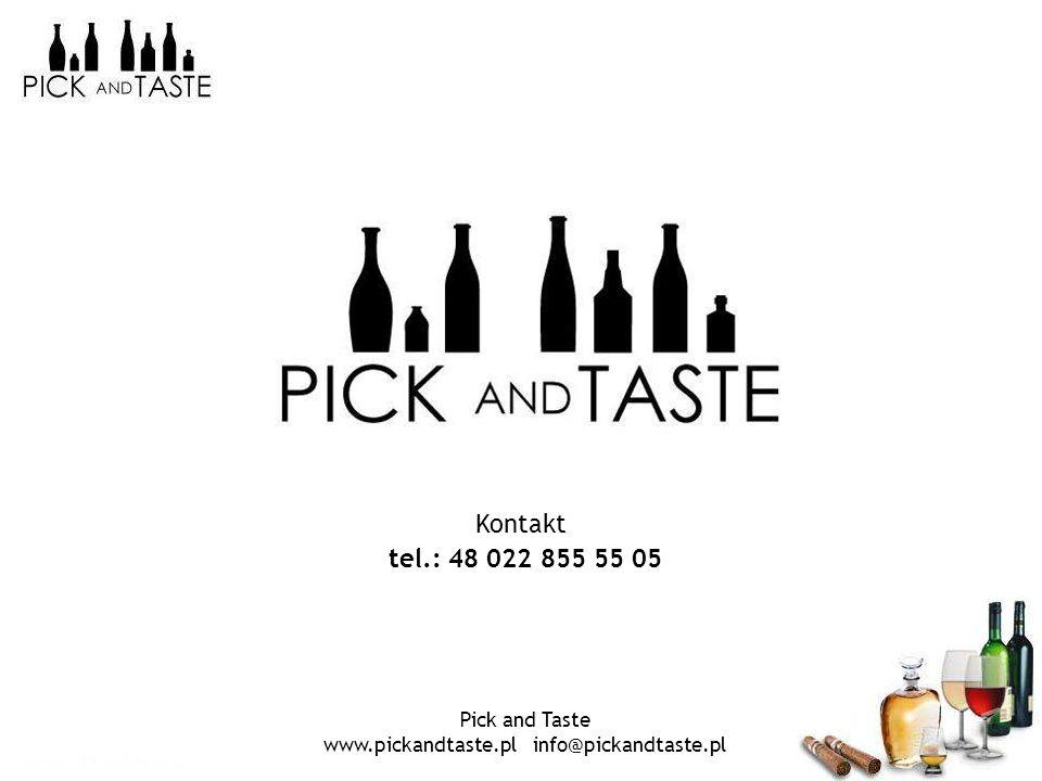 www.pickandtaste.pl info@pickandtaste.pl