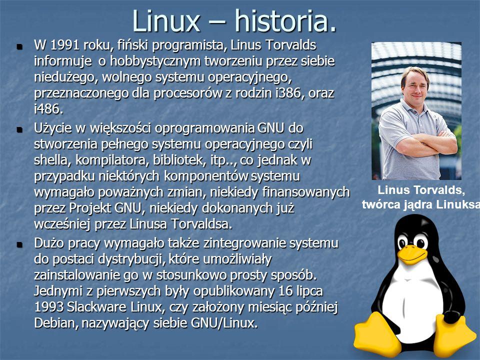 Linus Torvalds, twórca jądra Linuksa