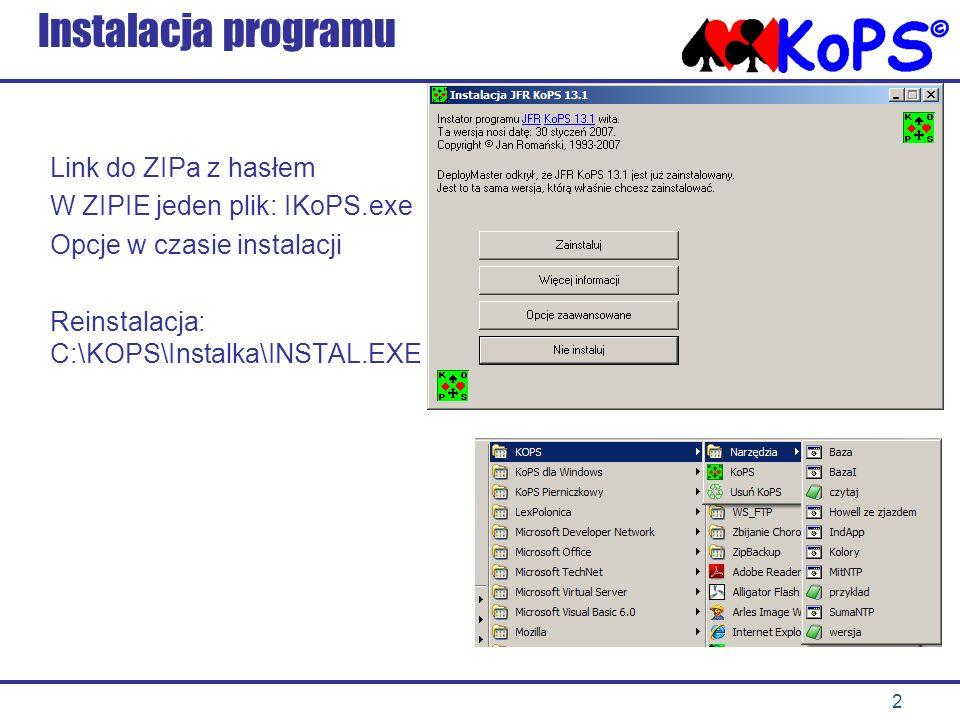 Instalacja programu Link do ZIPa z hasłem