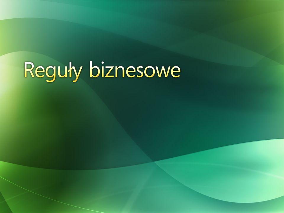 Reguły biznesowe
