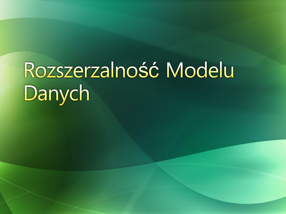 Rozszerzalność Modelu Danych