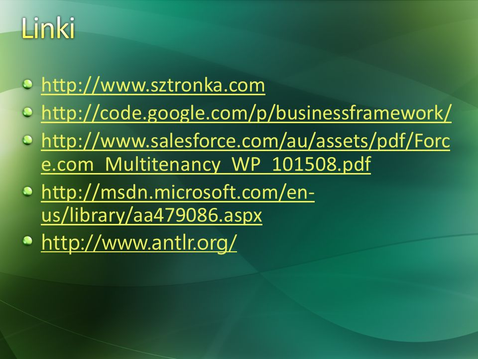 Linki http://www.sztronka.com